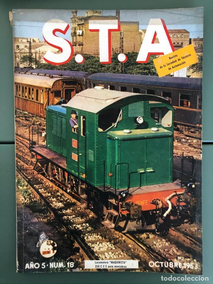 REVISTA STA AÑO 5 NUM 18, OCTUBRE DE 1953 ARTICULO PEGASAO (Coleccionismo - Revistas y Periódicos Modernos (a partir de 1.940) - Otros)