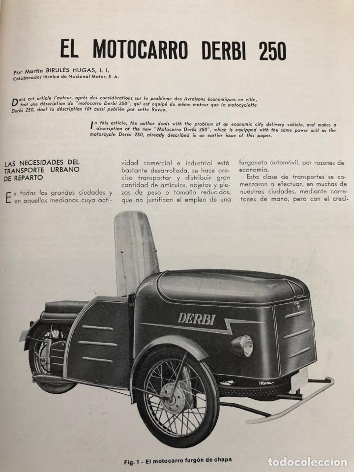 Coleccionismo de Revistas y Periódicos: Revista STA Año 5 Num 18, Octubre de 1953 Articulo Pegasao - Foto 2 - 215016175