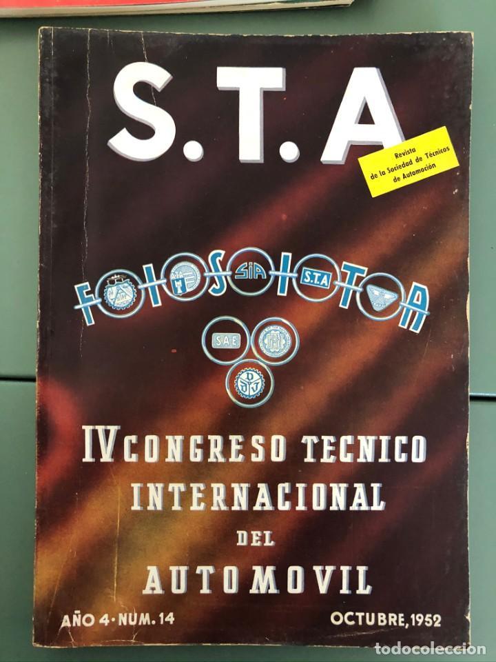 REVISTA STA AÑO 4 NUM 14, OCTUBRE DE 1952 PUBLICIDAD PEGASO (Coleccionismo - Revistas y Periódicos Modernos (a partir de 1.940) - Otros)