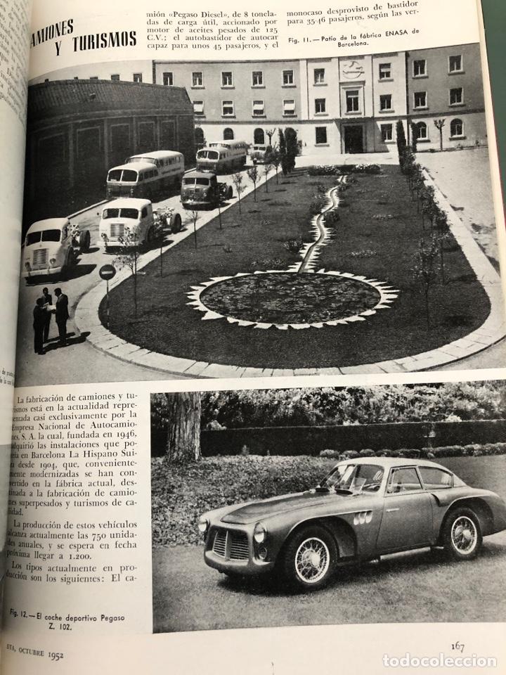 Coleccionismo de Revistas y Periódicos: Revista STA Año 4 Num 14, Octubre de 1952 Publicidad Pegaso - Foto 2 - 215016523