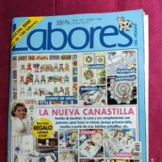 Coleccionismo de Revistas y Periódicos: REVISTA LABORES DEL HOGAR. Nº 451. ESPECIAL BEBE. ENERO. 1996. Lote 257573430