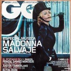 Coleccionismo de Revistas y Periódicos: REVISTA GQ MADONNA. Lote 215034697