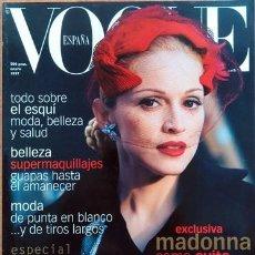 Coleccionismo de Revistas y Periódicos: REVISTA VOGUE MADONNA. Lote 229133600
