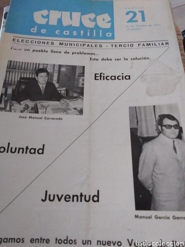 CRUCE DE CASTILLA N. 21 (Coleccionismo - Revistas y Periódicos Modernos (a partir de 1.940) - Otros)