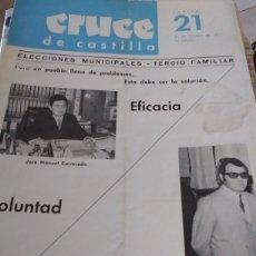 Coleccionismo de Revistas y Periódicos: CRUCE DE CASTILLA N. 21. Lote 215106437