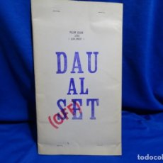 Coleccionismo de Revistas y Periódicos: FACSÍMIL REVISTA DAU AL SET.VOLUM SEGON 1950. (SUPLEMENT).BARCELONA.TAPIES,BROSSA,CUIXART,PONÇ.. Lote 293831173