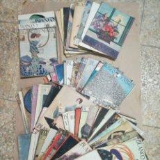 Collectionnisme de Revues et Journaux: LOTE REVISTA BLANCO Y NEGRO AÑOS 20. Lote 215256151