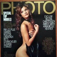 Coleccionismo de Revistas y Periódicos: REVISTA PHOTO HELENA CHRISTENSEN. Lote 215484208