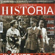 Coleccionismo de Revistas y Periódicos: LA AVENTURA DE LA HISTORIA: WAGNER IDOLO MUSICAL DEL NAZISMO (AÑO 15 Nº175). Lote 215506285