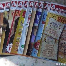 Coleccionismo de Revistas y Periódicos: 11 REVISTAS DE TOROS APLAUSOS ANTIGUAS. Lote 215508930