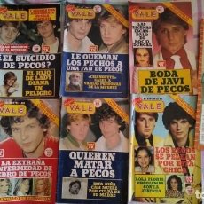 Coleccionismo de Revistas y Periódicos: 6 REVISTAS NUEVO VALE CON PORTADAS DE LOS PECOS Y DOS POSTERS. Lote 177967809