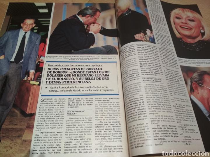 Coleccionismo de Revistas y Periódicos: Revista Semana 1989 Lola Flores Raffaela Carra Rocío Dúrcal Pedro Almodóvar - Foto 2 - 215684448