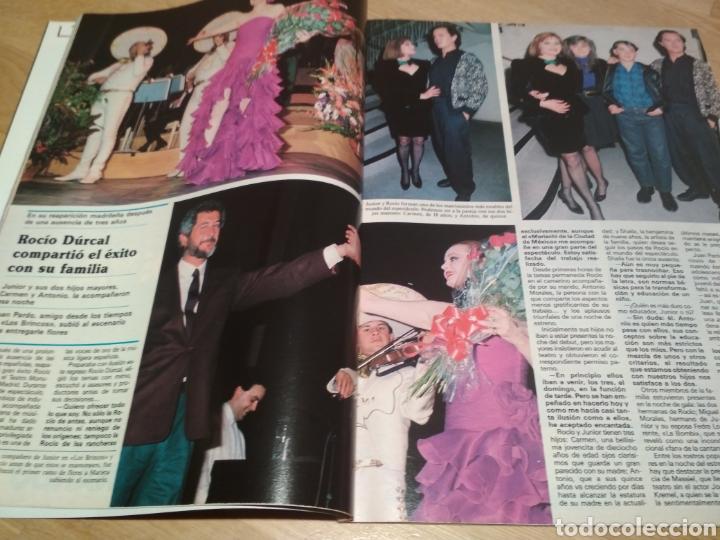 Coleccionismo de Revistas y Periódicos: Revista Semana 1989 Lola Flores Raffaela Carra Rocío Dúrcal Pedro Almodóvar - Foto 3 - 215684448