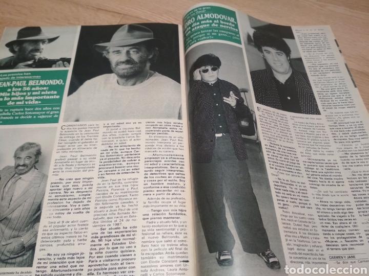 Coleccionismo de Revistas y Periódicos: Revista Semana 1989 Lola Flores Raffaela Carra Rocío Dúrcal Pedro Almodóvar - Foto 4 - 215684448