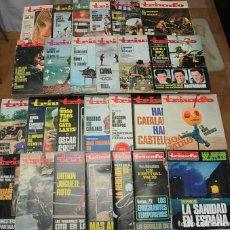 Coleccionismo de Revistas y Periódicos: LOTE 26 REVISTAS TRIUNFO 1965-1973 VALLE-INCLAN JOAN MIRO MIA FARROW SERENA VERGANO URTAIN. Lote 215730783