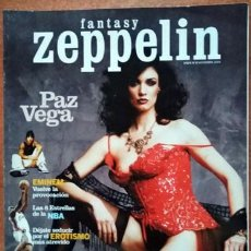 Coleccionismo de Revistas y Periódicos: REVISTA FANTASY ZEPPELIN PAZ VEGA. Lote 215964995