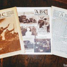 Coleccionismo de Revistas y Periódicos: DIARIO ABC. INCAUTADO POR U.G.T. Y REPUBLICA 1936-1938. 3 FORMATOS. ENVIO CERTIFICADO INCLUIDO.. Lote 216369853