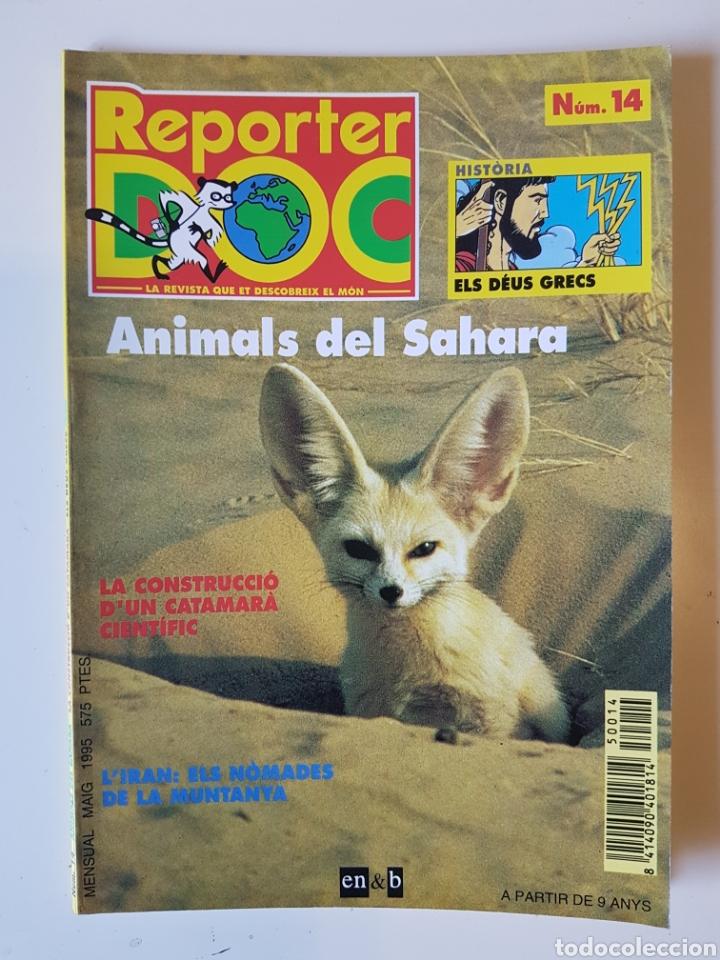 REPORTER DOC 14 - MAIG 1995 - EN CATALÁN - EN&B (Coleccionismo - Revistas y Periódicos Modernos (a partir de 1.940) - Otros)