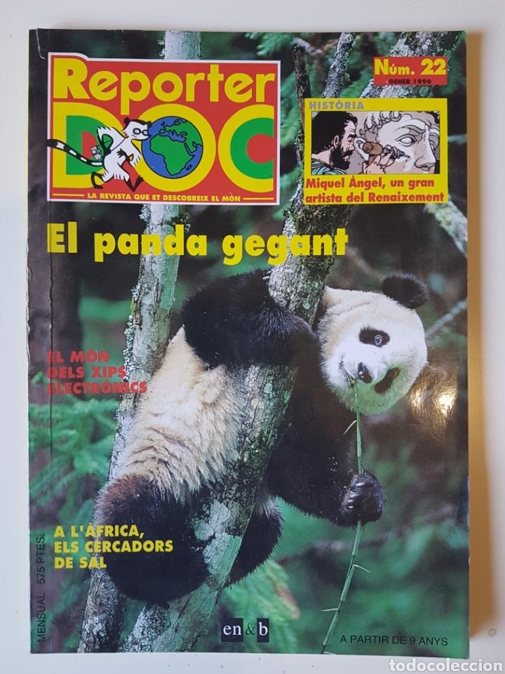 REPORTER DOC 22 - GENER 1996 - EN CATALÁN - EN&B (Coleccionismo - Revistas y Periódicos Modernos (a partir de 1.940) - Otros)