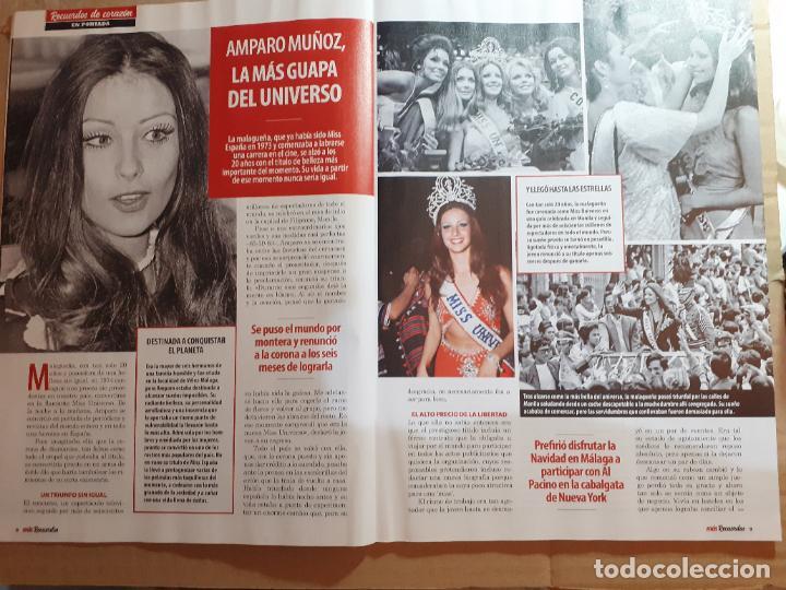 Coleccionismo de Revistas y Periódicos: amparo muñoz MISS ESPAÑA UNIVERSO - Foto 1 - 216572442
