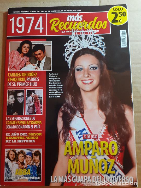 Coleccionismo de Revistas y Periódicos: amparo muñoz MISS ESPAÑA UNIVERSO - Foto 1 - 216572445