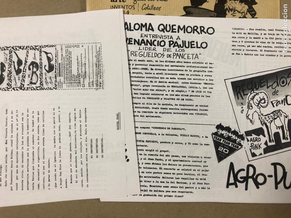 Coleccionismo de Revistas y Periódicos: NEPATOK N° (MADRID 1984). HISTÓRICO FANZINE ORIGINAL MOVIDA MADRILEÑA; ÓRGANO CLANDESTINO C.A.I.N. - Foto 4 - 216621622