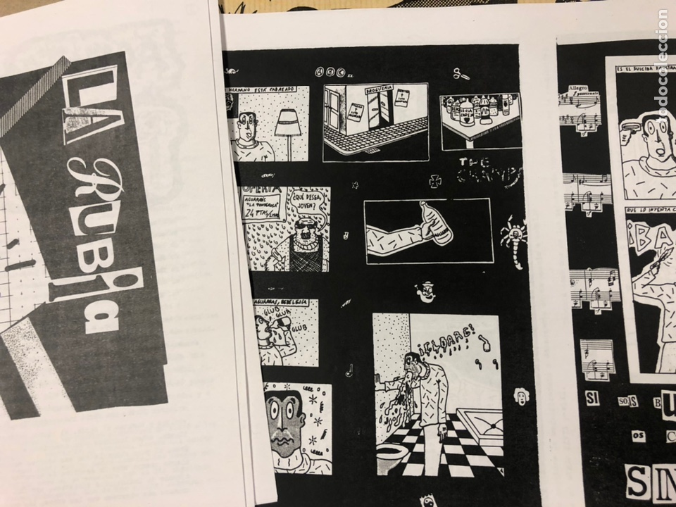 Coleccionismo de Revistas y Periódicos: NEPATOK N° (MADRID 1984). HISTÓRICO FANZINE ORIGINAL MOVIDA MADRILEÑA; ÓRGANO CLANDESTINO C.A.I.N. - Foto 7 - 216621622