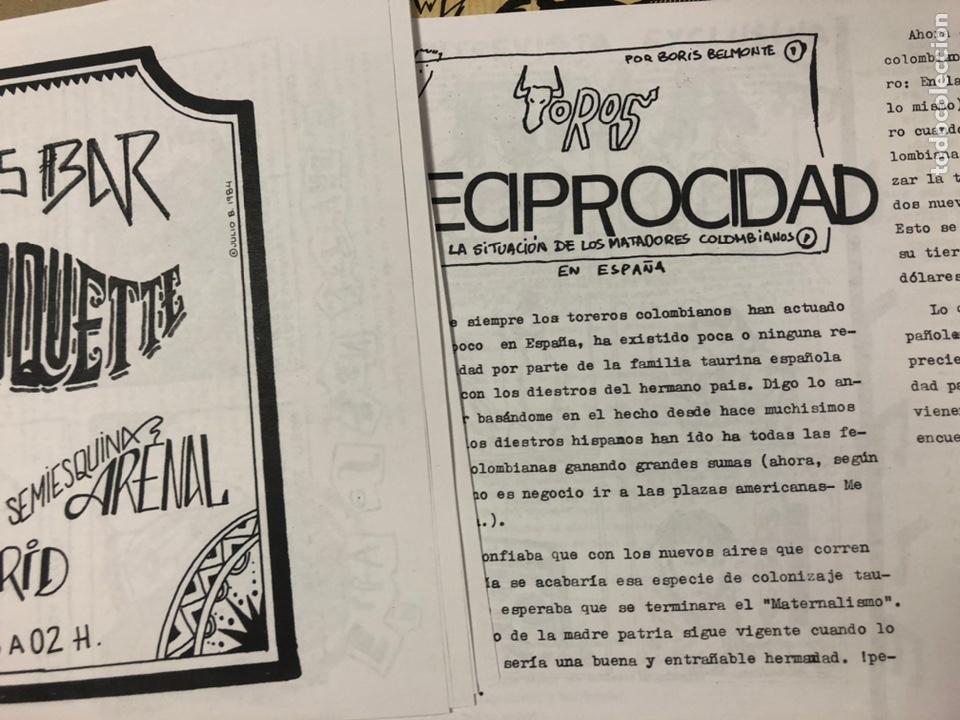 Coleccionismo de Revistas y Periódicos: NEPATOK N° (MADRID 1984). HISTÓRICO FANZINE ORIGINAL MOVIDA MADRILEÑA; ÓRGANO CLANDESTINO C.A.I.N. - Foto 8 - 216621622