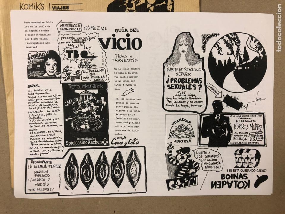 Coleccionismo de Revistas y Periódicos: NEPATOK N° (MADRID 1984). HISTÓRICO FANZINE ORIGINAL MOVIDA MADRILEÑA; ÓRGANO CLANDESTINO C.A.I.N. - Foto 10 - 216621622