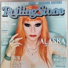 Coleccionismo de Revistas y Periódicos: REVISTA ROLLING STONE ALASKA. Lote 216628365