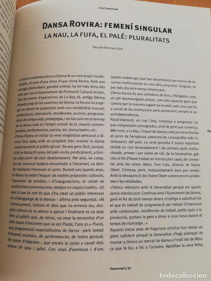 Coleccionismo de Revistas y Periódicos: TRANSVERSAL. REVISTA DE CULTURA CONTEMPORÀNIA NÚM. 3 (1997) EL FUTUR DE LA CREACIÓ AUDIOVISUAL - Foto 4 - 216691603