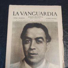 Coleccionismo de Revistas y Periódicos: LA VANGUARDIA. BARCELONA. 2 DE AGOSTO DE 1936. Lote 216857011