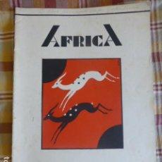 Collezionismo di Riviste e Giornali: AFRICA REVISTA DE TROPAS COLONIALES CEUTA JULIO 1932. Lote 217017128