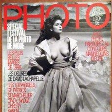 Coleccionismo de Revistas y Periódicos: REVISTA PHOTO CINDY CRAWFORD. Lote 217046835