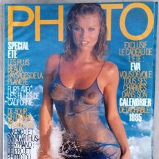 Coleccionismo de Revistas y Periódicos: REVISTA PHOTO EVA HERZIGOVA. Lote 217164437