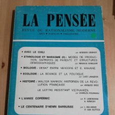 Coleccionismo de Revistas y Periódicos: LA PENSÉE. REVUE DU RATIONALISME MODERNE Nº 172 - DÉCEMBRE 1973. Lote 217287142