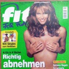 Coleccionismo de Revistas y Periódicos: REVISTA FIT ELLE MACPHERSON (MCPHERSON). Lote 217388453