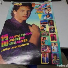 Coleccionismo de Revistas y Periódicos: SUPER POP - ESPECIAL 13 POSTERS - COMPLETO - MADONA - SAMANTHA FOX - RIVER PHOENIX - MECANO. Lote 217390265