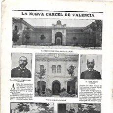Coleccionismo de Revistas y Periódicos: AÑO 1903 INAUGURACION NUEVA CARCEL VALENCIA PRISION MADAME VALSOIS DOMADORA ELEFANTES CIRCO. Lote 217452153