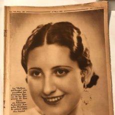 Coleccionismo de Revistas y Periódicos: CRONICA REVISTA Nº 288 19 MAYO 1935 HAND BALL FEMENINO, CARAMELLAS. Lote 217477071