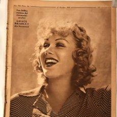 Coleccionismo de Revistas y Periódicos: CRONICA REVISTA Nº 311 27 OCTUBRE 1935 GRACE BRADLEY,. Lote 217477332