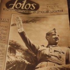 Coleccionismo de Revistas y Periódicos: SEMANARIO GRÁFICO 28 MARZO 1940. Lote 217493185