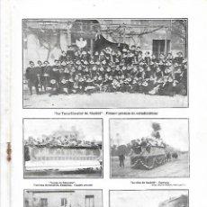 Coleccionismo de Revistas y Periódicos: AÑO 1905 TUNA ETUDIANTINA ESCOLAR SANTANDERINA PINTURA PINTOR SALVADOR VINIEGRA LA ROMERIA DEL ROCIO. Lote 217521083