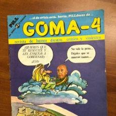 Coleccionismo de Revistas y Periódicos: REVISTA HUMOR GOMA-4, AÑOS OCHENTA NÚM. 2. Lote 217528806
