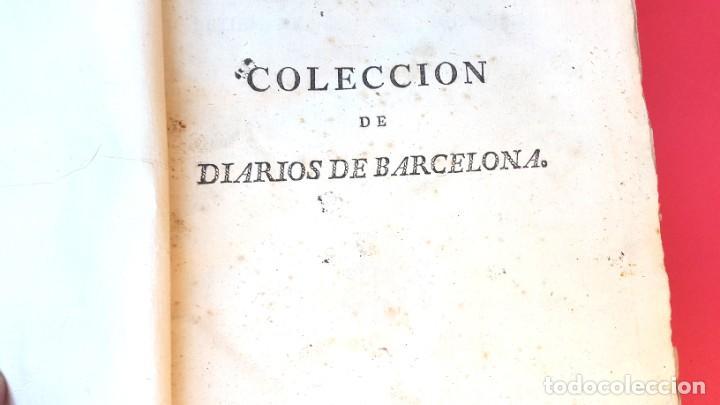 Coleccionismo de Revistas y Periódicos: DIARIO DE BARCELONA - 1802 - DEL Nº 243 AL 364 - 121 números - Foto 3 - 217550892