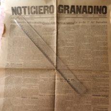 Coleccionismo de Revistas y Periódicos: 1929 PERIÓDICO NOTICIERO GRANADINO GRANADA. Lote 217617970