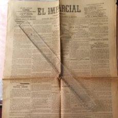 Coleccionismo de Revistas y Periódicos: 1901 PERIÓDICO EL IMPARCIAL 5 JUNIO MADRID. Lote 217619051