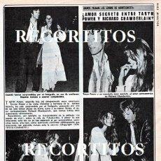 Coleccionismo de Revistas y Periódicos: SCANS RICHARD CHAMBERLAIN TARYN POWER. Lote 217671070