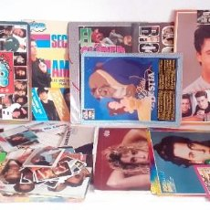 Coleccionismo de Revistas y Periódicos: LOTE SUPER POP SUPERPOP POSTERS CARPETAS ALBUM ETC. Lote 217685740