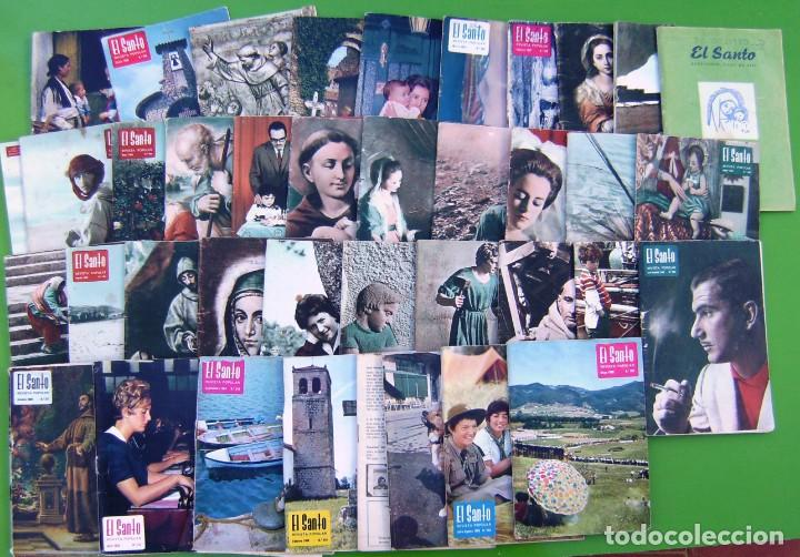 LOTE 35 EL SANTO (REVISTA MENSUAL ANTONIANA) 1962-1969 (Y UNA DEL 59) (Coleccionismo - Revistas y Periódicos Modernos (a partir de 1.940) - Otros)